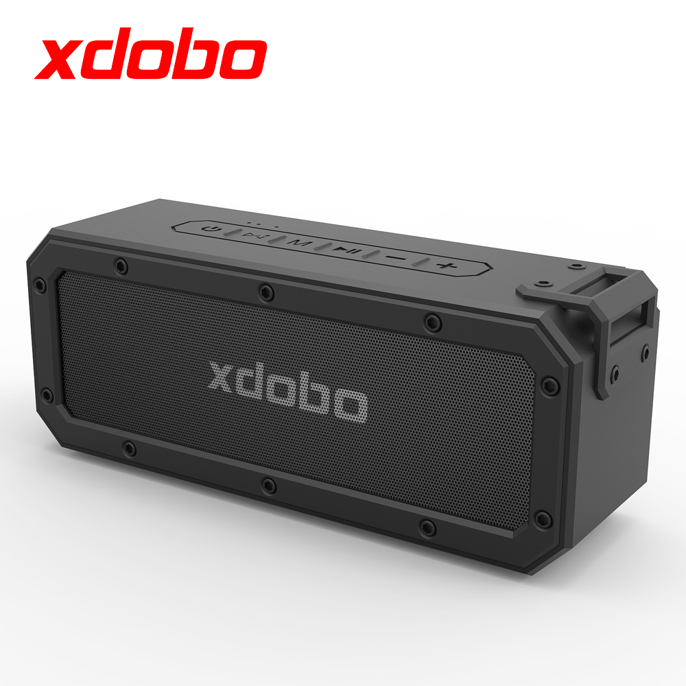 XDOBO 40W <strong>Bluetooth</strong> <strong>Speaker</strong> Waterproof IPX7 Strong Bass TWS Portable <strong>Speaker</strong> with Type-C USB Port Support TF Card Long Play Time