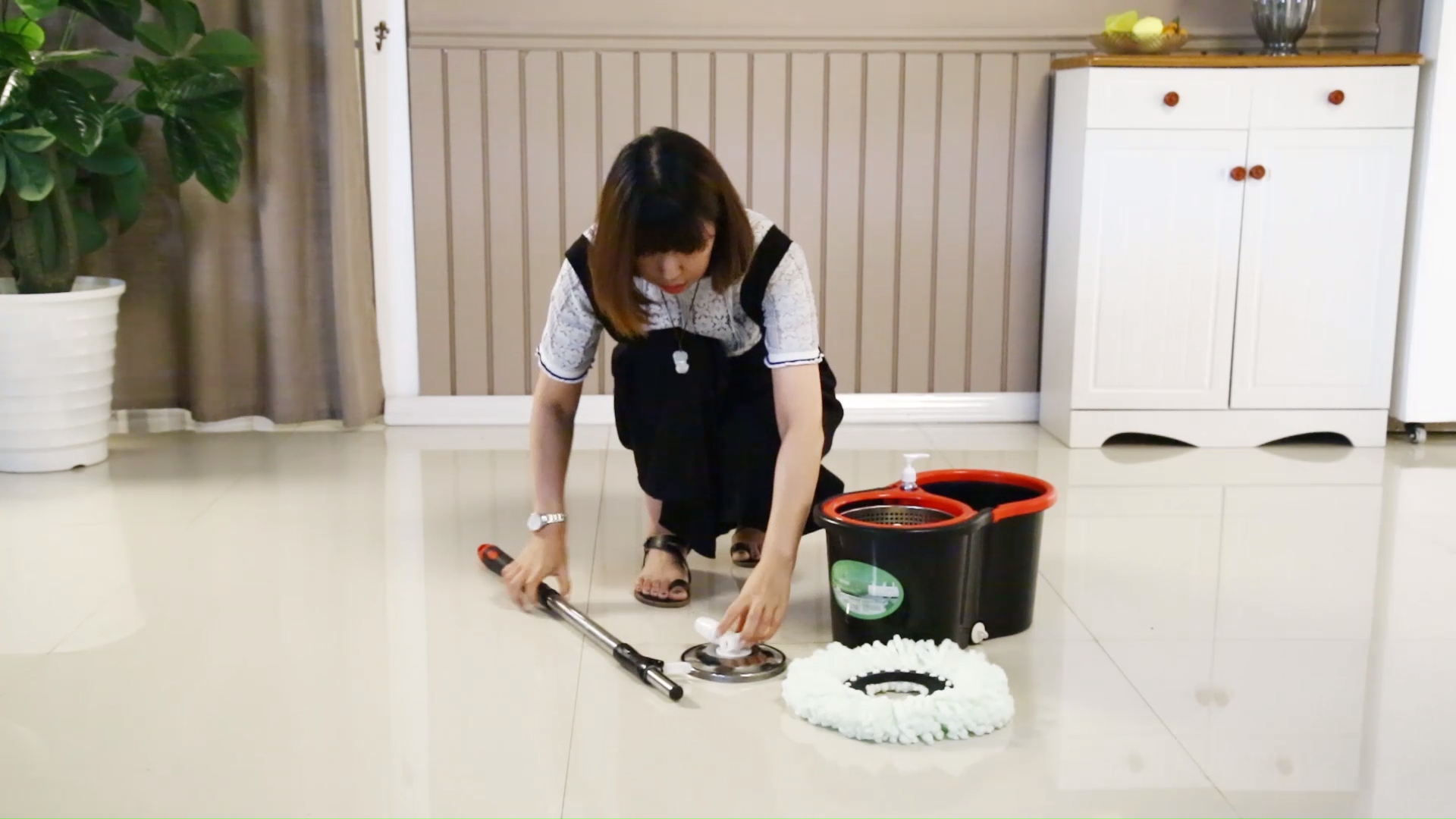 Atacado wet and dry mop chão com preço de fábrica e qualidade garantida