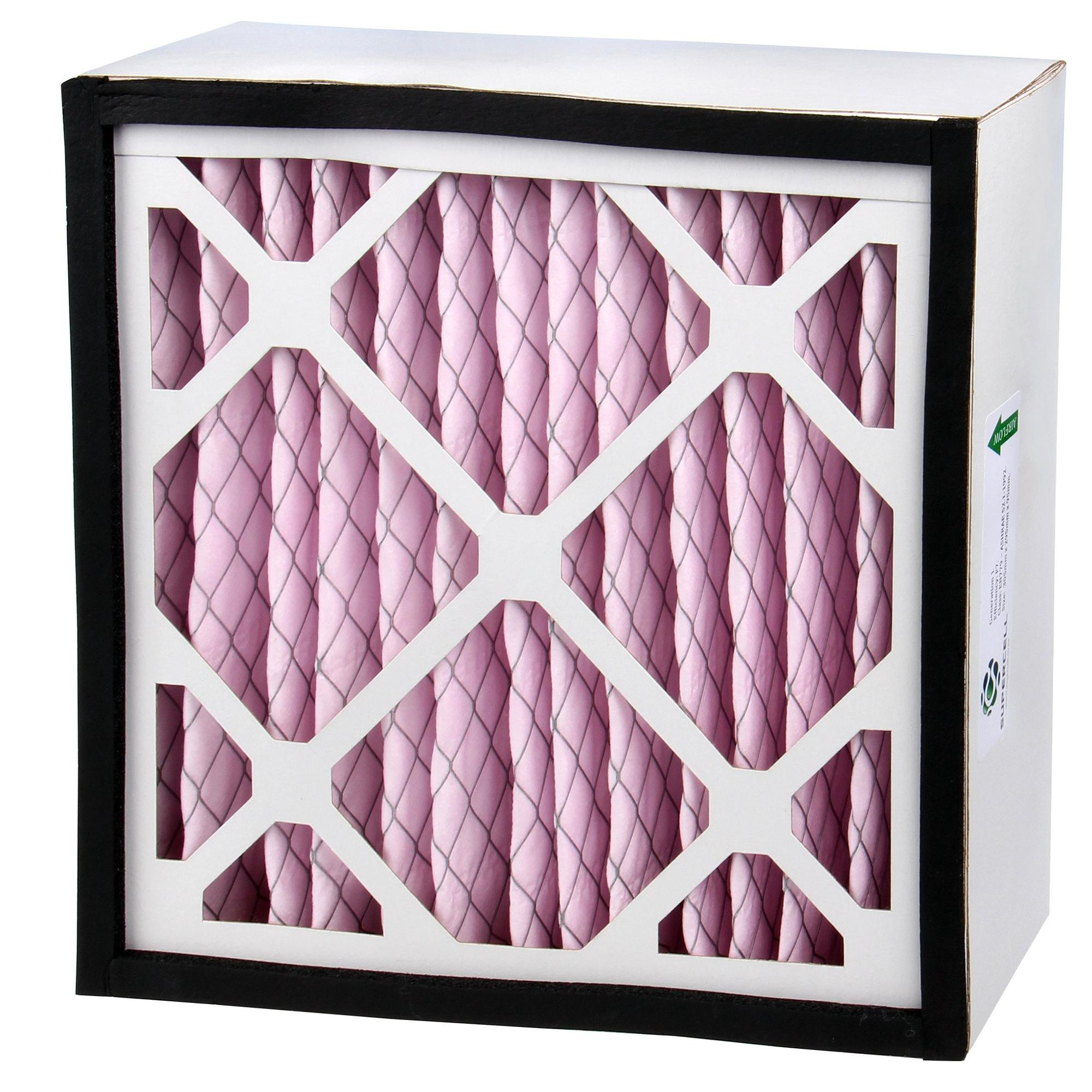 F8  box air pleated filter for home ventilation system
