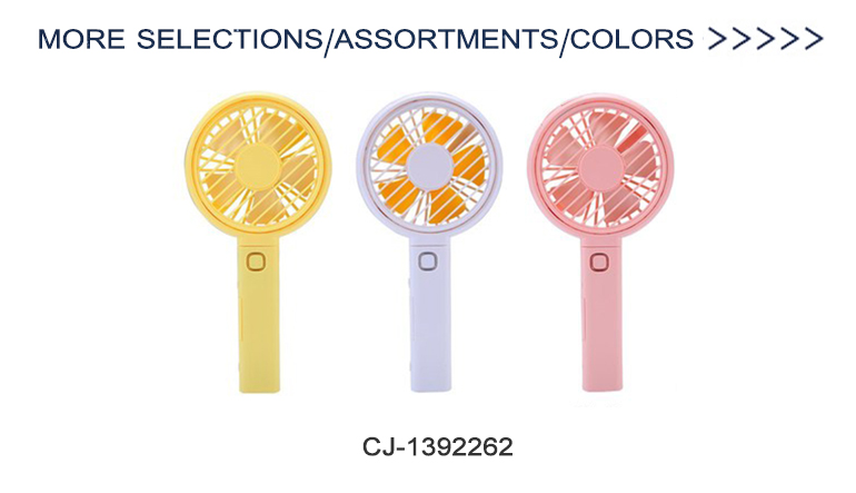 Summer plastic mini wind educational cute colorful promotional hand fan toy
