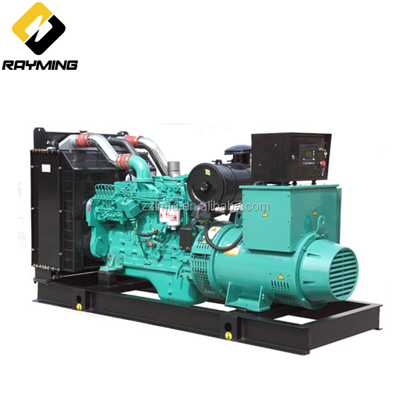 Open type 50/60HZ Power diesel generator 112kw 140kva met Cummins motor