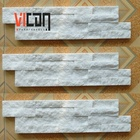 z shape white marble stone interior wall cladding flat panel for sale