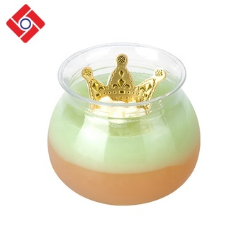Wholesale Custom Round Mini Disposable Plastic Dessert Pudding Jelly Containers
