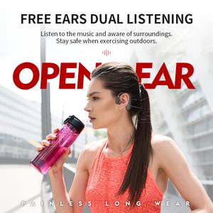 Cheap bluetooth 5.0 handset running sport 6d panoramic sound earphone headphones professional studio open back with lightweight