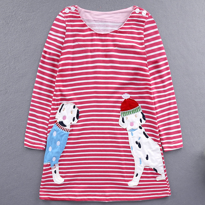 Popular New Design Autumn Long Sleeve Dress Girls <strong>Cotton</strong> Variety <strong>Baby</strong> Girl <strong>Frocks</strong>