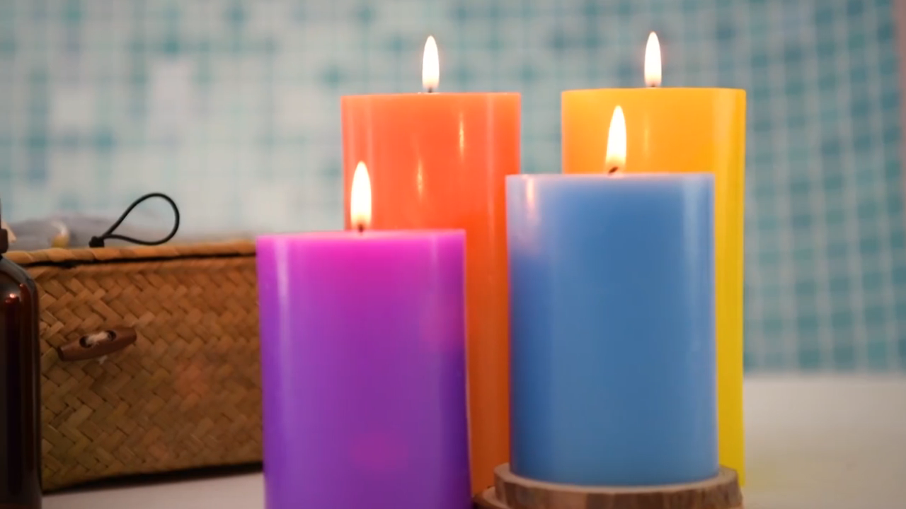 7 day glass candles wholesale