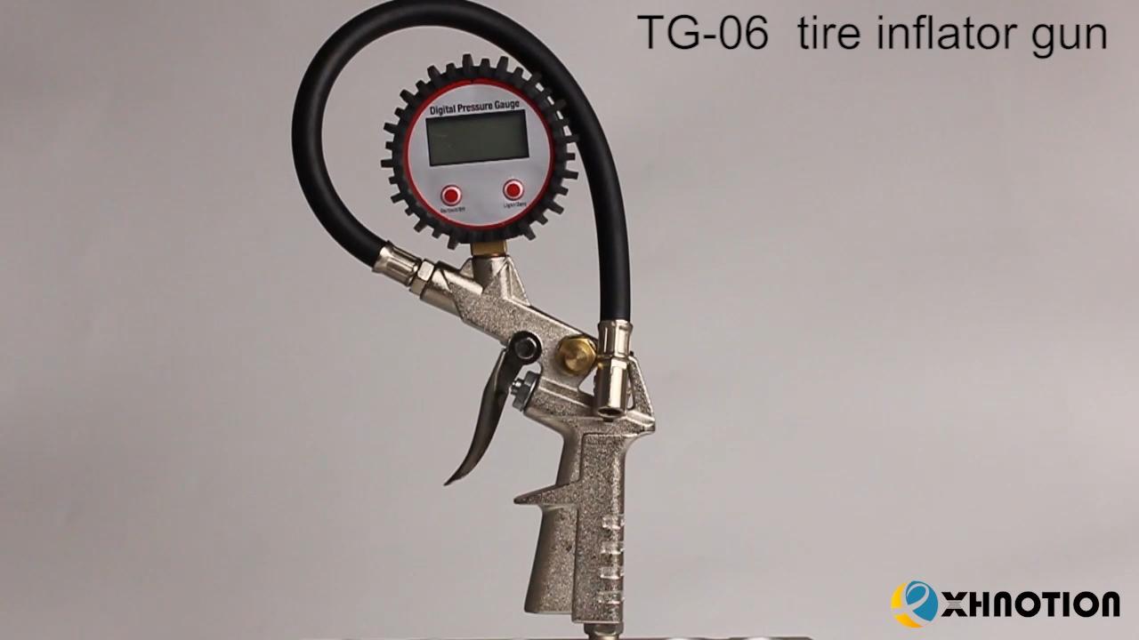 Digital Tire inflation air gun