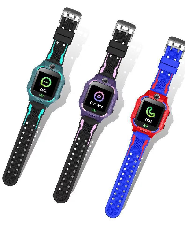 Q19 2019 kids smart watch with <strong>sim</strong> calling camera LBS location alarm clock photograph SOS
