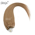 100% Human Hot Selling Unprocessed Wholesale Cheap Brazilian 30Inch Micro Ring Loop Hair Extensions