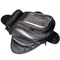 Universal Motorcycle Gas Oil Fuel Tank Bag with 4 Strong Magnets