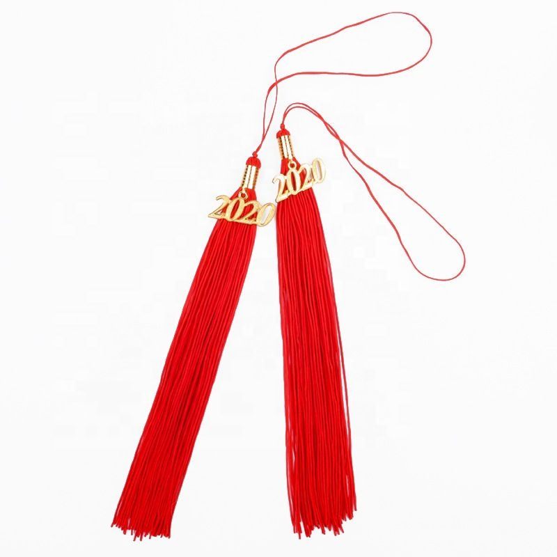 Latest product fancy design polyester graduation honor cap tassel