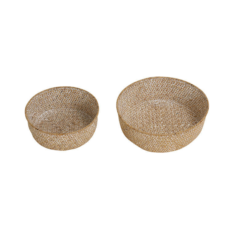 China Suppliers Best Selling Products Round Seagrass Products Clothing Storage Basket
