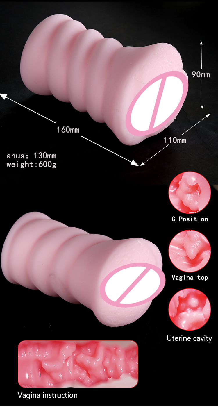 Langfei logo  factory Sexual Oral Gay Adult Toy Male Rubber Vagina Mouth Aircraft masturbator sex toy for men
