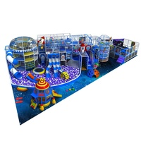 OK Playground Kids Space Rocket Indoor Playground Equipment
