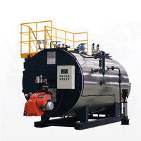Factory price WNS series horizontal gas oil steam fire tube boiler