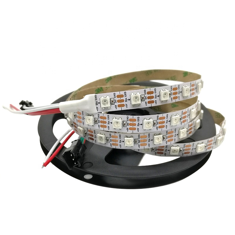 Addressable SK6812 LED Strip Light 30LED 60LED 144LED Digital SK6812 LED Strip RGBW Warm White Pixel Tape 3535 LED