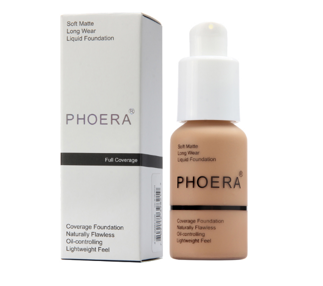 PHOERA Foundation Phoera Full Coverage Foundation PHOERA Liquid Matte Foundation