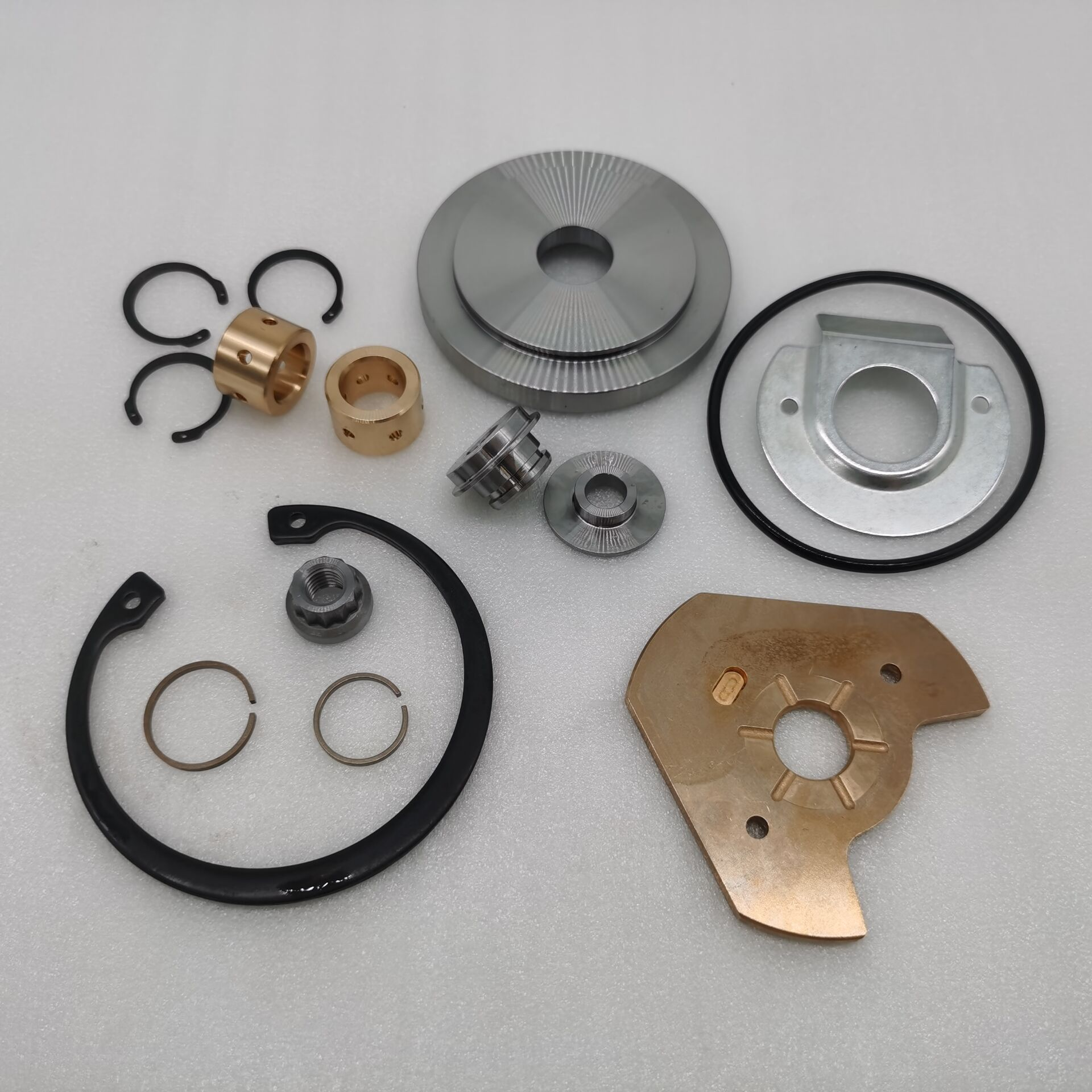 HX50  HX55 HX52 Turbocharger Repair Kits P/N:3545627  twin ring and single ring