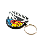 Custom made keychain soft 3D rubber PVC key chain