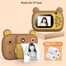 2,4 дюйма IPS цифровая детская камера для печати детская камера термальная Цифровая детская обучающая игрушка подарок видеокамера Polaroid(Китай)