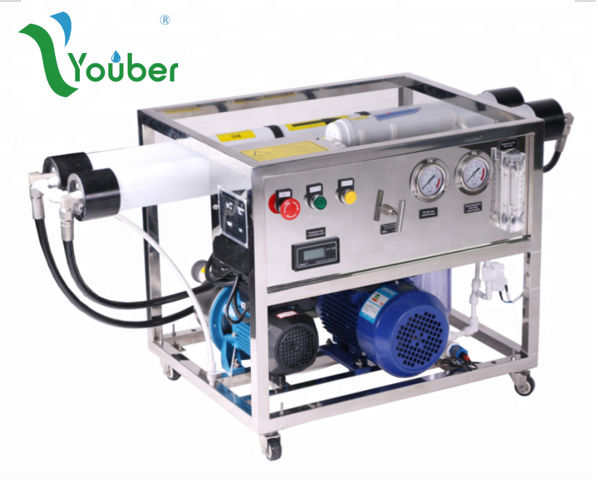 Reverse Osmosis from sea water, Water Maker for Boat