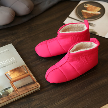 when winter comes you need the winter indoor Women Slippers Plush Warm Cotton Home Slippers BOOTS