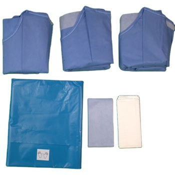 Medical Disposable Sterilized surgical drape Ophthalmology Pack Eye Operation Pack