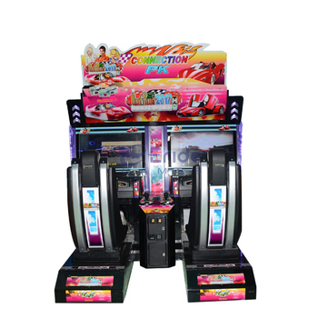 Eride Coin Operated 2 Players Outrun Car Simulator Game Machine 3D Racing Car Games