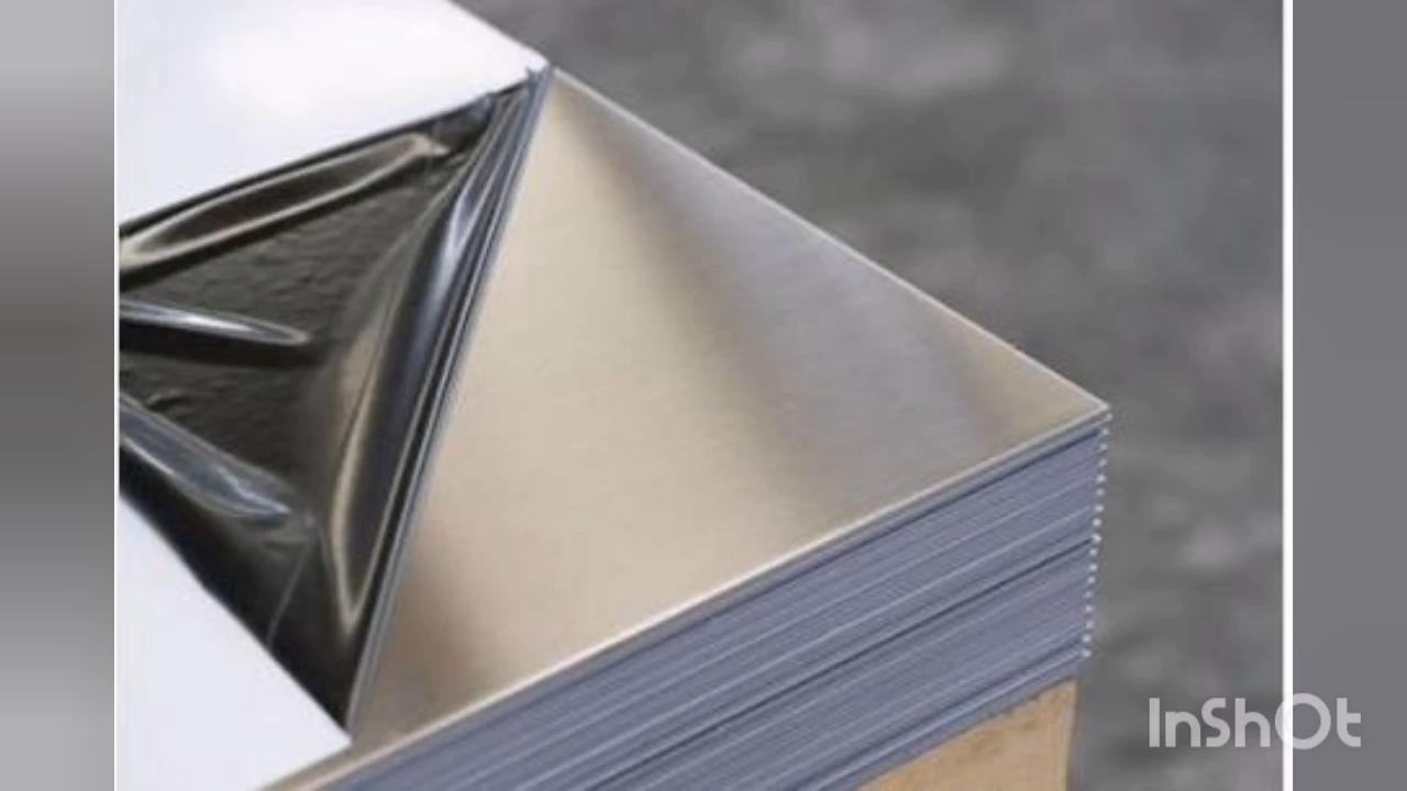 5005 Silver Hard Anodized coated Aluminum Sheet 1.2mm 0.5mm thick mirror finish aluminum sheet