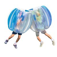 Outdoor Inflatable Human Sumo Wearable Body Bubble Zorb Ball Soccer Suit Hamster Blue BBOP Buddy Bumper Ball