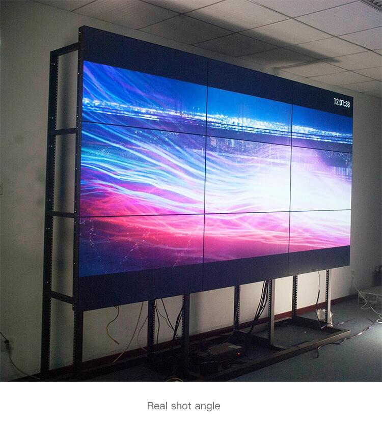 Led video wall op koop, LCD video muur met hoge helderheid