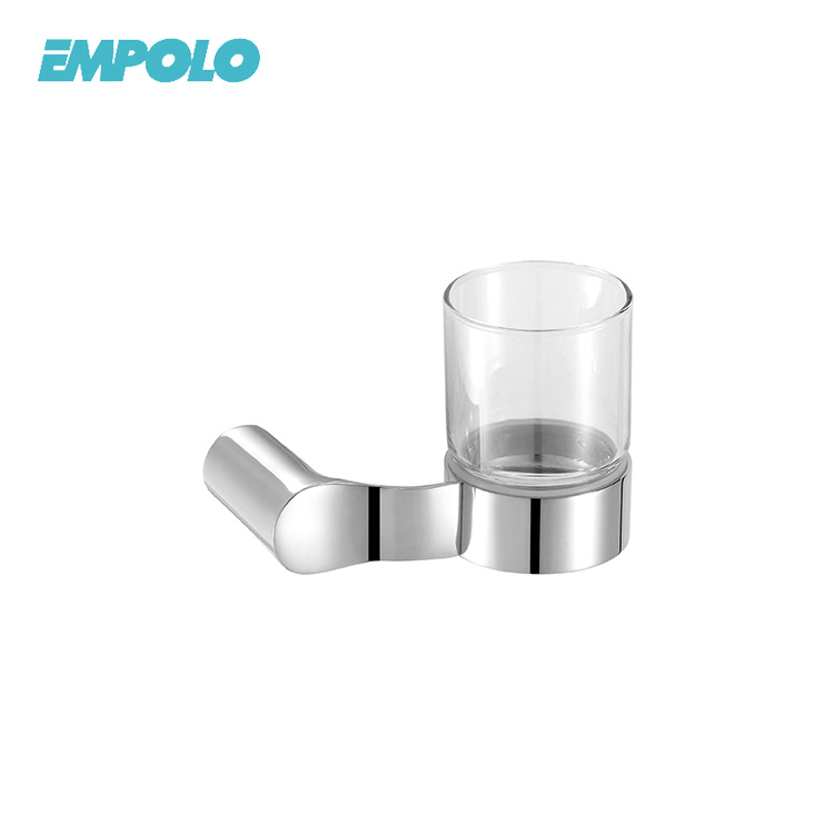 Bathroom Accessories Toothbrush Cup Tumbler Holder With Glass
