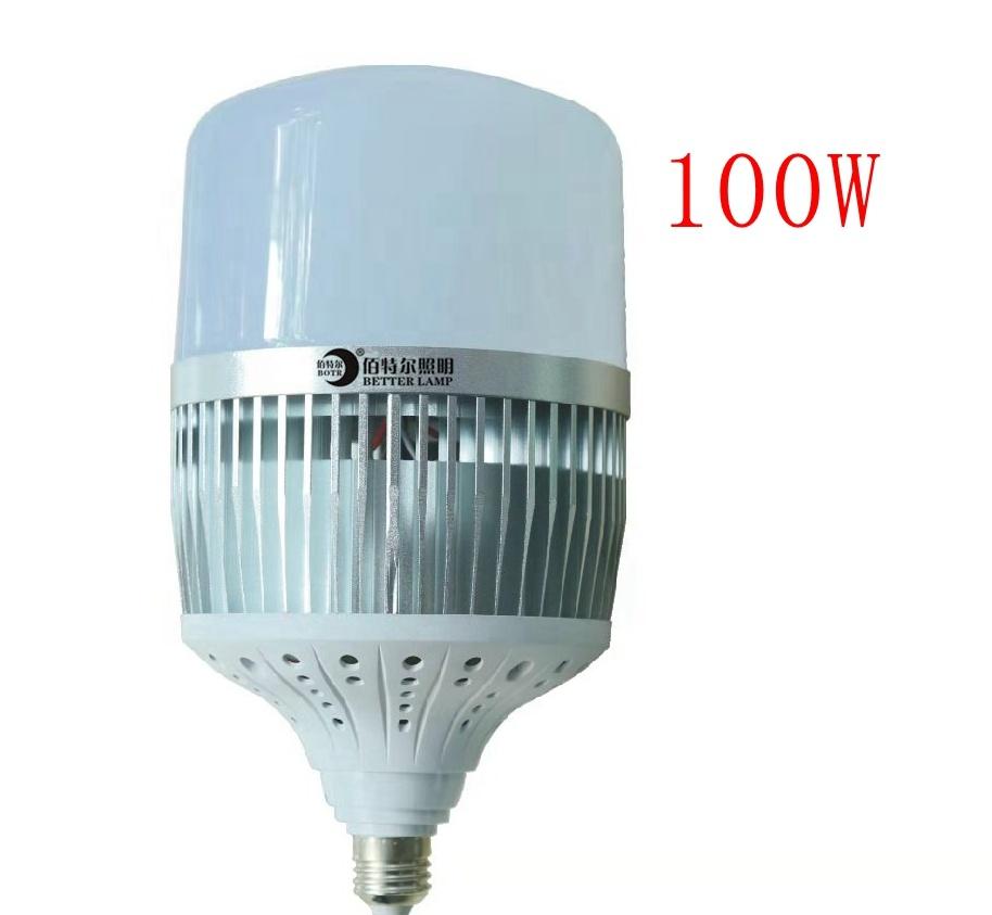 manufacturer high brightness led big power bulb with fan 100W CB SASO aluminium LED bulb