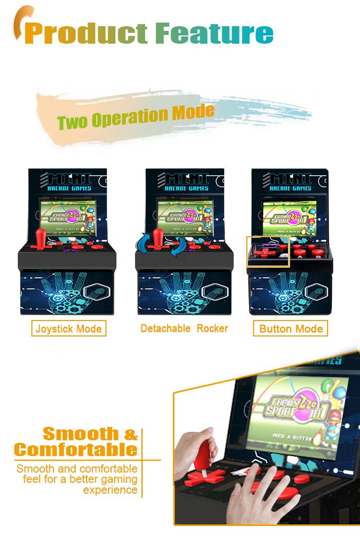 CT882X Hot Item Beste Gift 16 Bit Handheld Game Console Speler