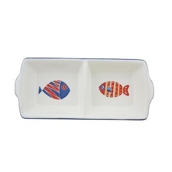 2 Part Divided Serving Dish