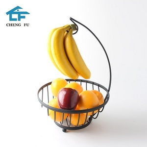 China supplier french country tiered wire fruit basket