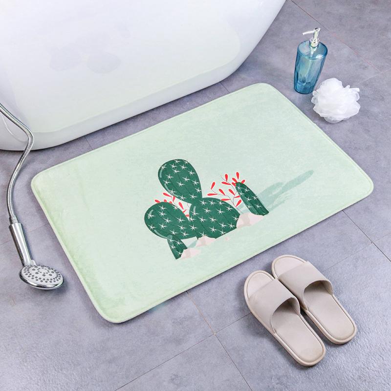 Sıcak satış yüksek standart olmayan kayma ve su emici bellek köpük banyo paspası seti özelleştirilmiş boyut veya Logo