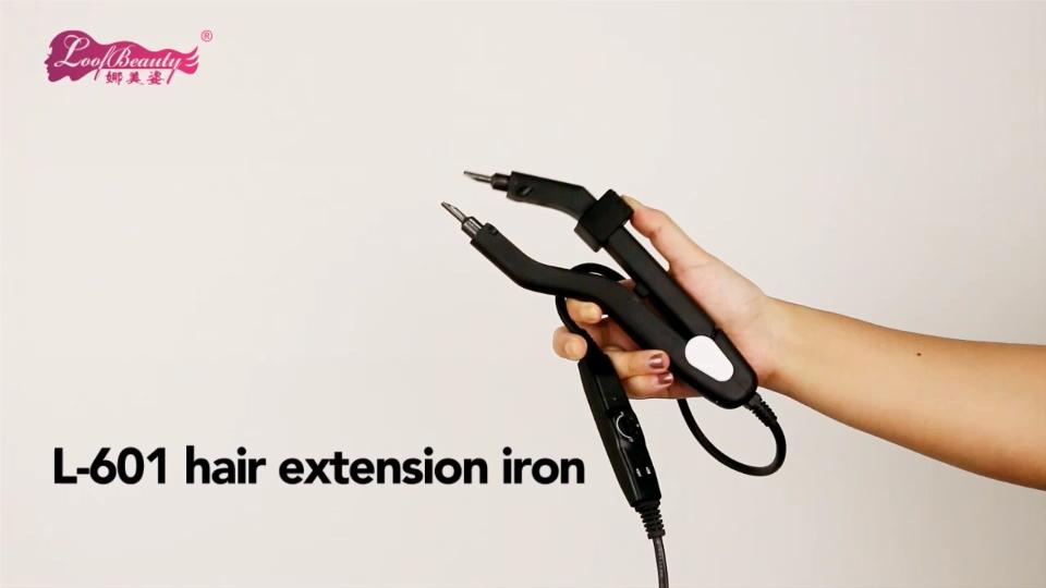 हाथ बंधे कपड़ा बाल विस्तार शरीर लहर मानव सिंथेटिक फाइबर उपकरण माइक्रो मोती ब्रश सूअर बाल खड़े क्लिप एक्सटेंशन में