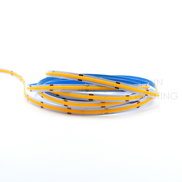 India DC12-24V high brightness flexible dimmable LED COB light strip