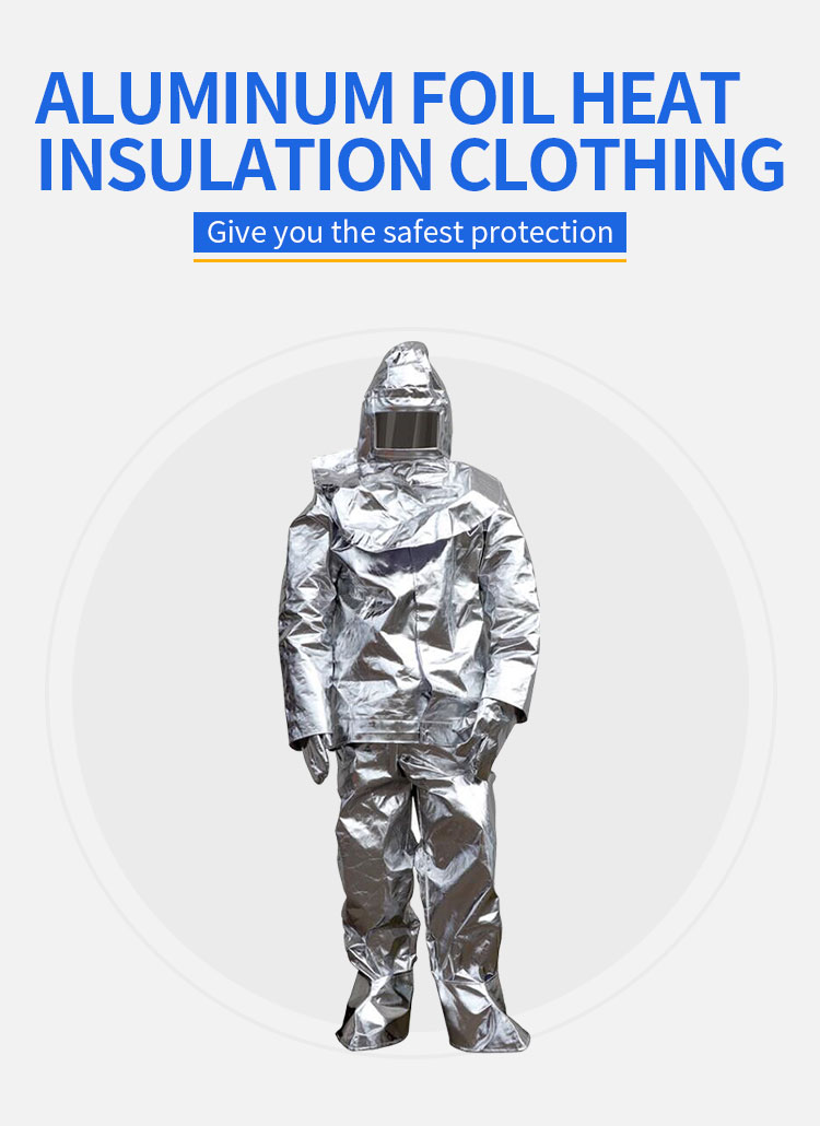 High Quality Manufacturer Fire Fighting Aluminum Fire Proximity Suit - KingCare | KingCare.net