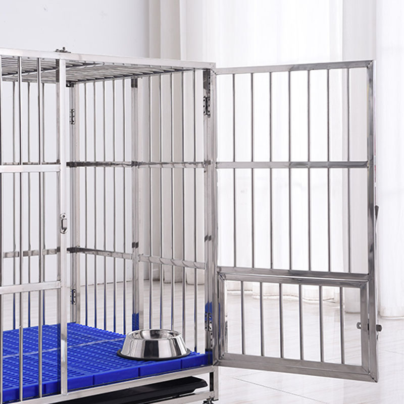 Stainless Steel Kennel Big Size Dog Cage Large Animal Cages For Sale