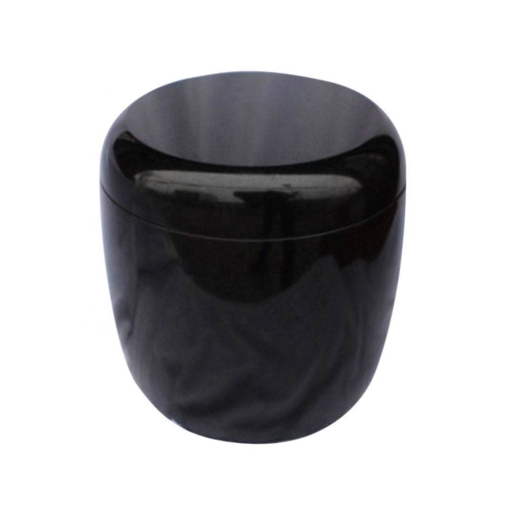 Chinese wholesale ceramic funeral boxes burial urns for human ashes
