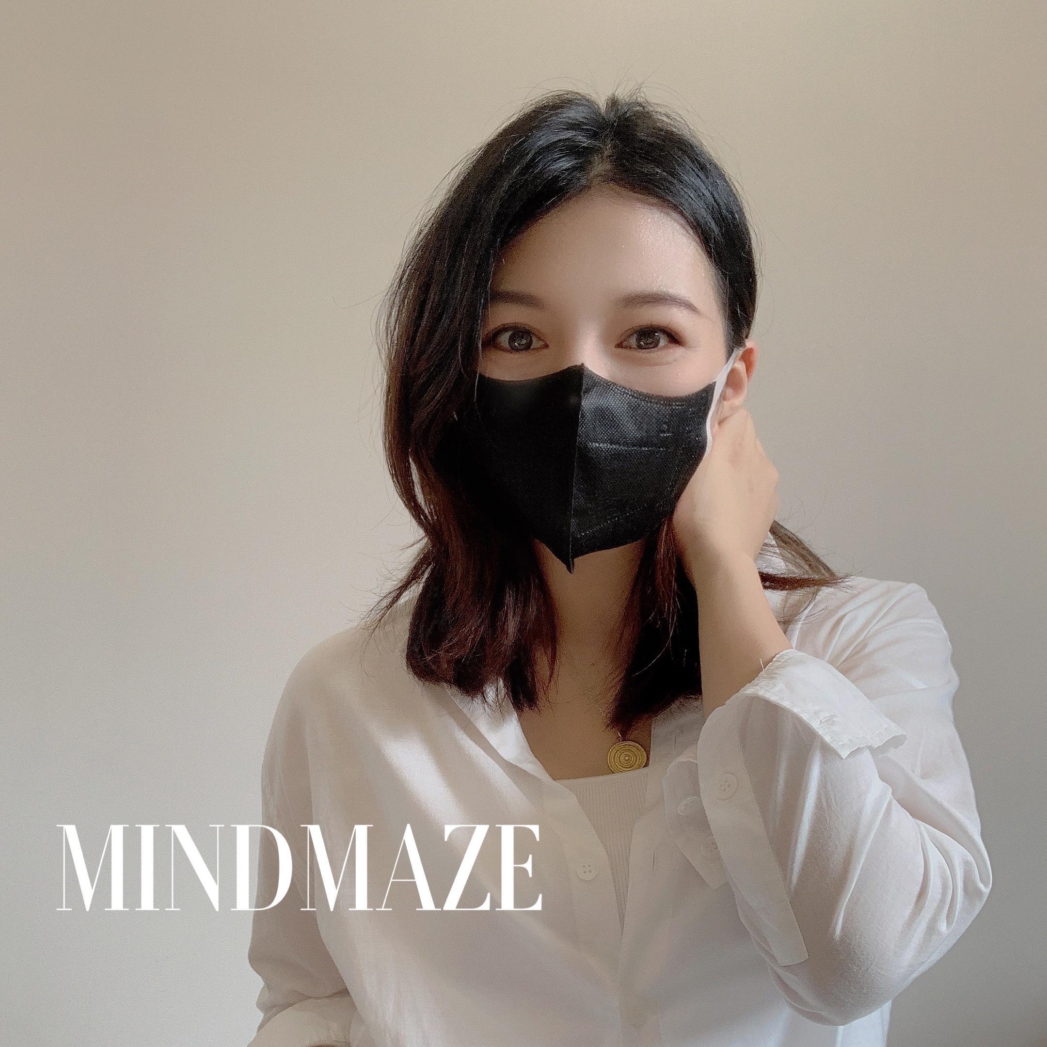 New Breathe smoothly 3d design face mask Light mask(图2)