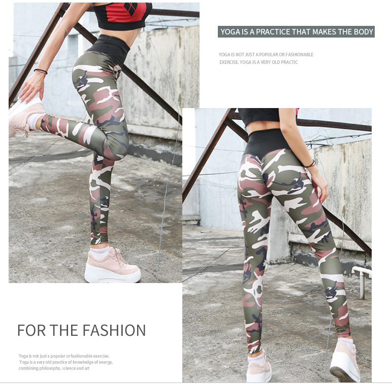 Wholesale Women Customize Sublimation Sports Fitness Yoga Leggings