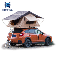2020 HOMFUL Custom Soft Shell Camping Car Roof Top Tent Soft Cover Rooftop Tent