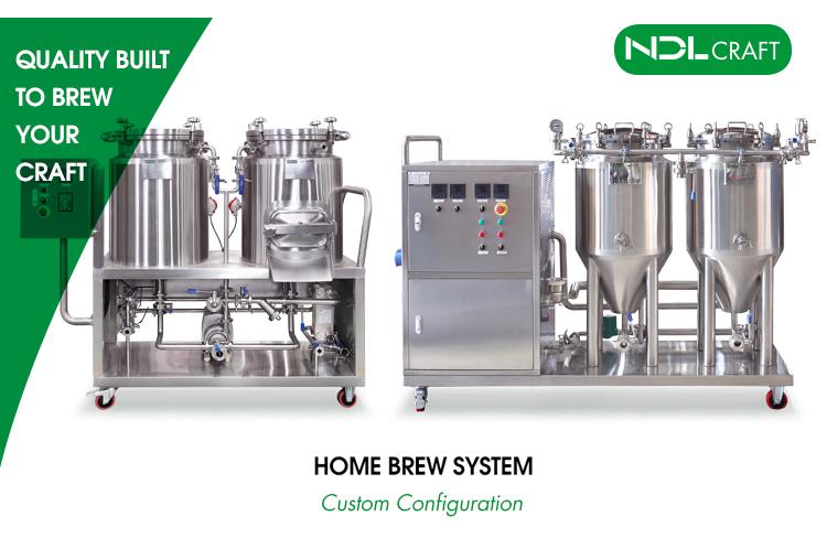 中国50l 60l 100lテストパイロット簡単ビールホーム醸造システム