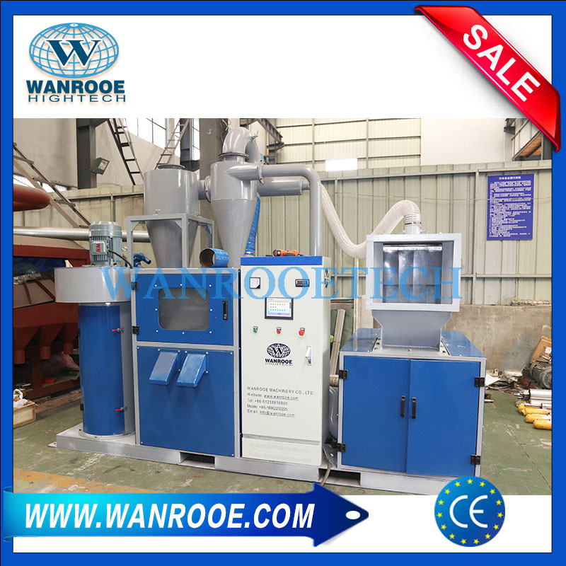99% Pure Advanced Copper Wire Crusher Cable Recycling Equipment Waste Metal Granulator Machine
