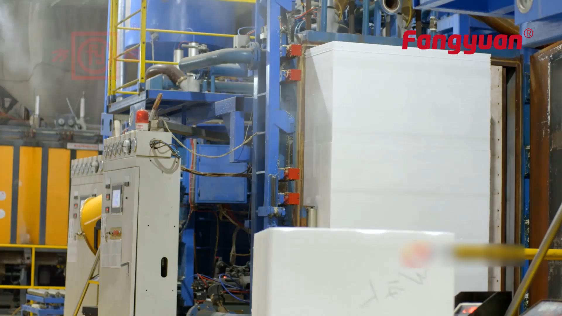 Machine de formage de panneaux muraux automatique Fangyuan machine de panneaux muraux eps