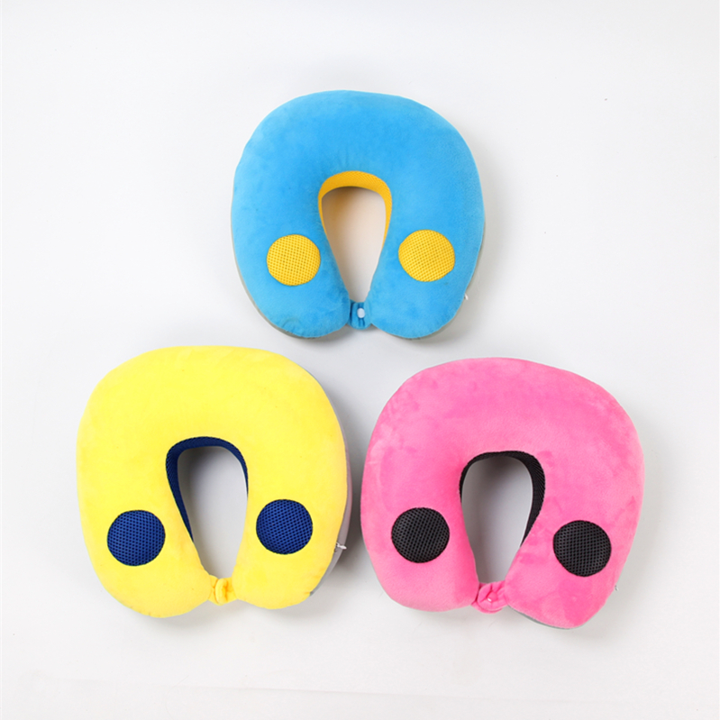 Wholesale OEM/ODM music  travel neck bean pillow with speaker