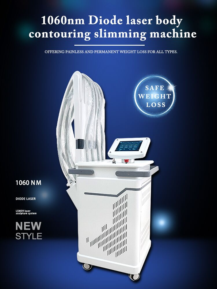 1060nm diode laser platform offering painless and permanent weight loss for all types.